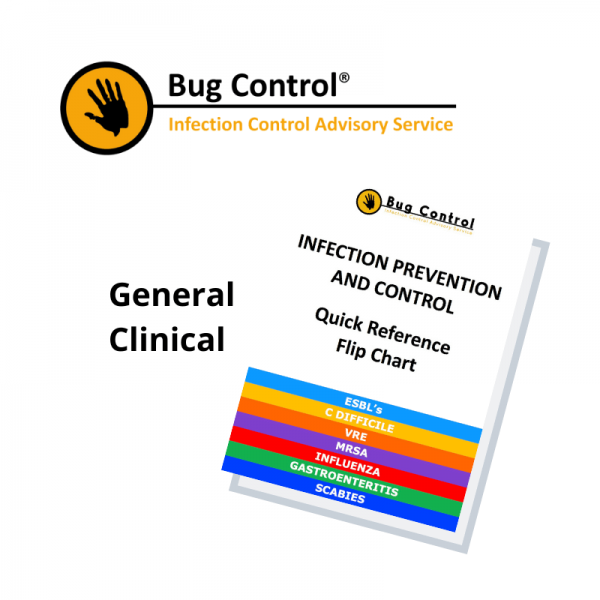 Workplace Safety General Clinical IPC Flip Chart