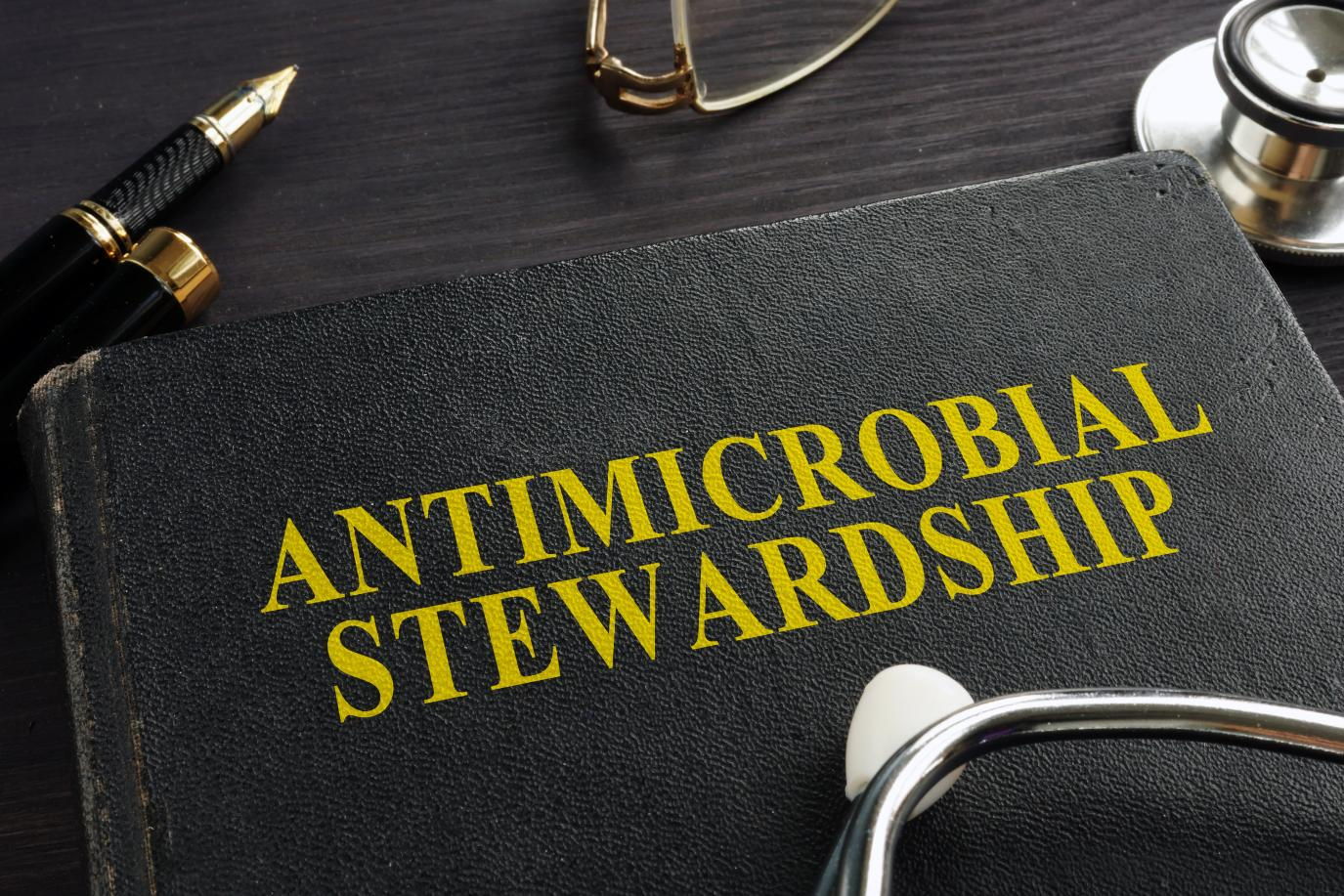 Folder labelled 'Antimicrobial Stewardship'